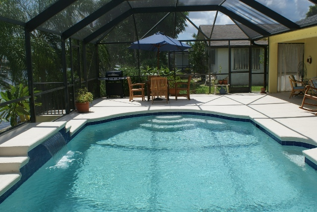 Villa elena vacation rental home in cape coral florida