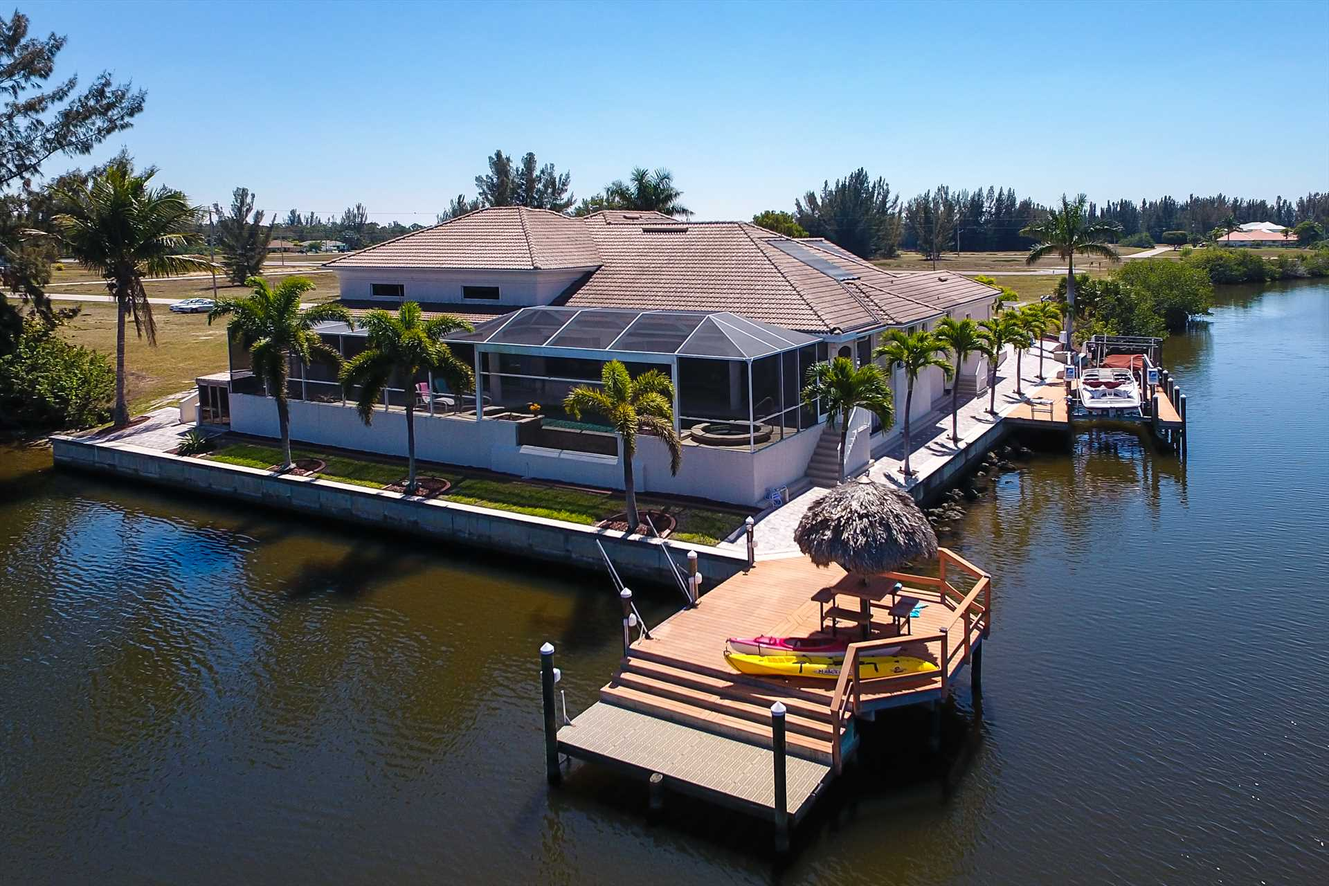 Villa Tropical Island Cape Coral Florida